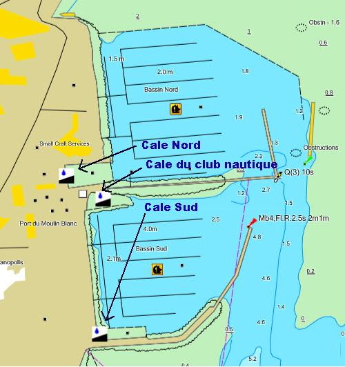 Les cales du moulin blanc - Le port du moulin champtoceaux ...